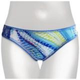 OnGossamer Mesh Print Panties - Hipster Bikini (For Women)