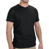 JKL Knit Cotton Shirt - V-Neck, Short Sleeve (For Men)