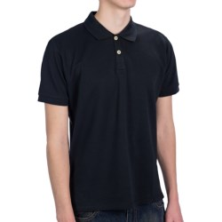 JKL Knit Pique Polo Shirt - Short Sleeve (For Men)