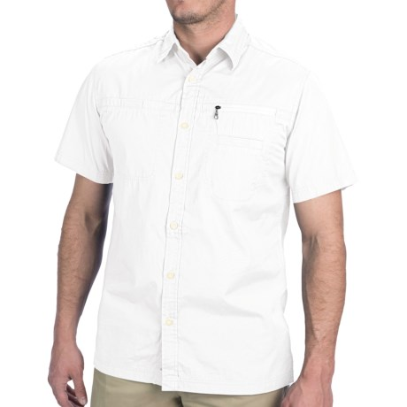JKL Woven Shirt - Short Sleeve (For Men)
