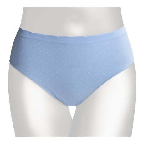 Ellen Tracy Seamless Panties - Hi-Cut Briefs (For Women)