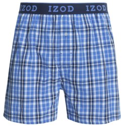IZOD Collegiate Woven Boxers - Low Rise, Cotton (For Men)