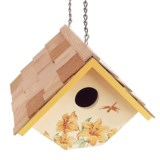Home Bazaar Hanging Wren Birdhouse