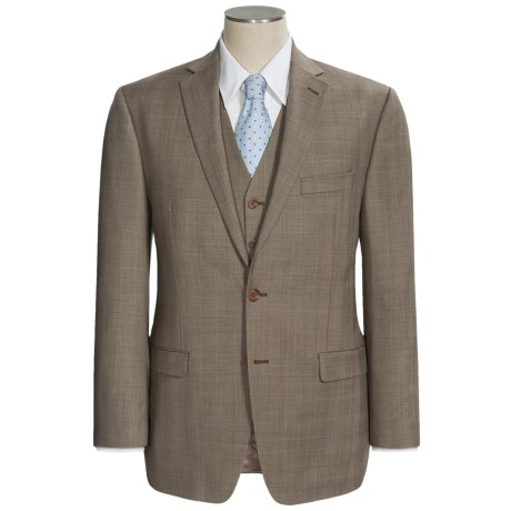 Lauren by Ralph Lauren Plaid Suit - Wool, 3-Piece (For Men)