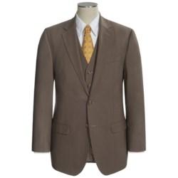 Lauren by Ralph Lauren Solid Suit - Wool, 3-Piece (For Men)