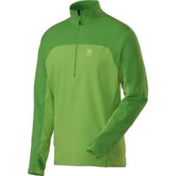 Haglofs Stem II Fleece Shirt - Zip Neck, Long Sleeve (For Men)