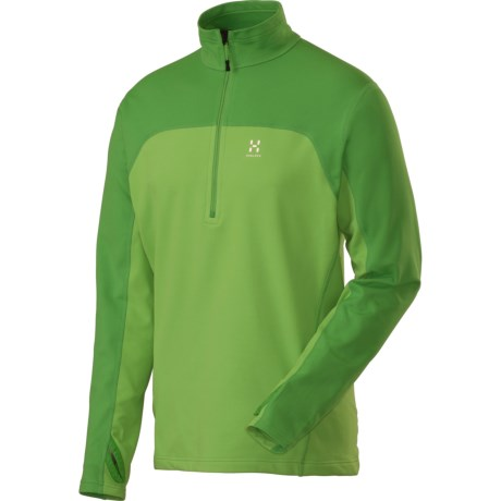 Haglofs Stem II Fleece Shirt - Zip Neck, Long Sleeve (For Men)