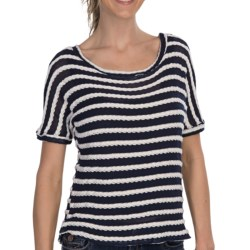 KUT from the Kloth Carla Sweater-Knit Shirt - Short Sleeve (For Women)