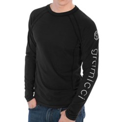 Gramicci Logo Burnham Shirt - UPF 30, Hemp-Organic Cotton, Long Sleeve (For Men)