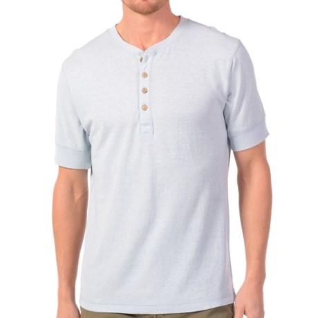 Gramicci Paxton Henley Shirt - UPF 20, Hemp-Organic Cotton, Short Sleeve (For Men)