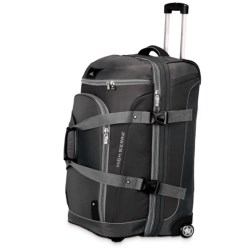 "High Sierra AT3 Rolling Duffel Suitcase - 26"", Drop-Bottom"