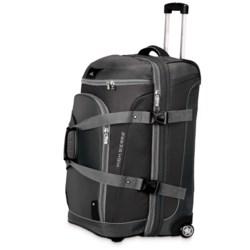 "High Sierra AT3 Rolling Duffel Suitcase - 26"", Drop-Bottom"