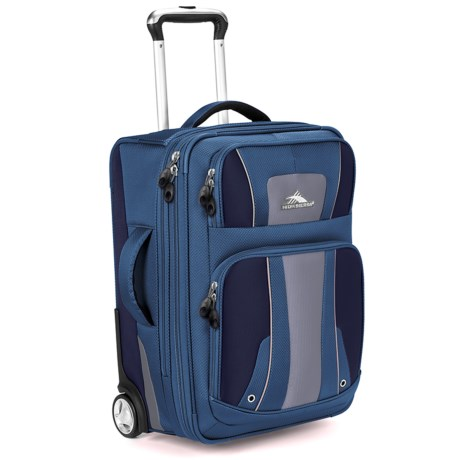 """High Sierra Evolution Expandable Rolling Upright Suitcase - 22"""""""
