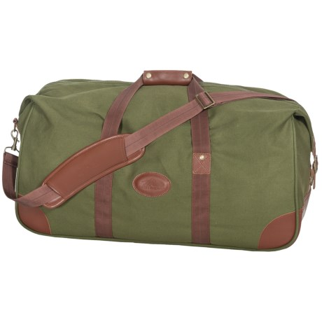 """High Sierra Heritage Collection Duffel Bag - 25"""", Leather Trim"""