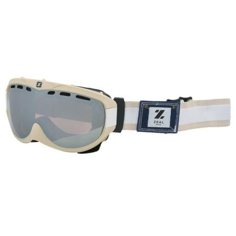 Zeal Link Ski Goggles - Photochromic Lens
