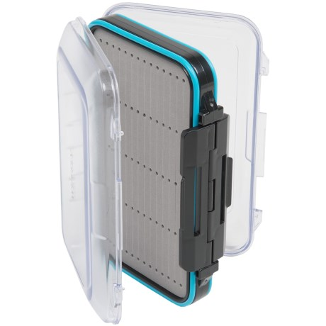 Wetfly Clear-Sided Waterproof Fly Box - Large
