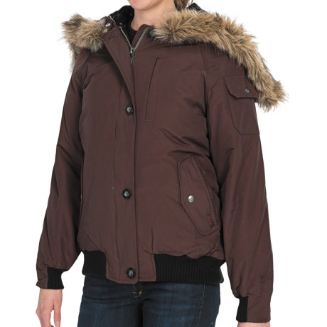 Woolrich Arctic Down Jacket - 550 Fill Power, Removable Faux-Fur Trim (For Women)