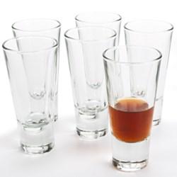 Bormioli Rocco Ypsilon Shot Glasses - 2.25 fl.oz., Set of 6
