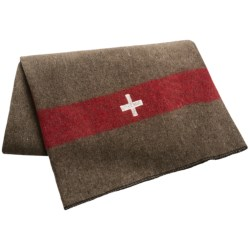 Swiss-Link Swiss Army Reproduction Blanket - Wool