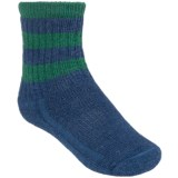 SmartWool Hike Stripe Socks - Merino Wool, Crew (For Little and Big Kids)