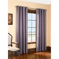 "Habitat Lehigh Linen Blend Curtains - 102x63"", Grommet-Top"