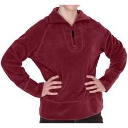 Woolrich Clarksville Fleece Pullover Jacket - Zip Neck (For Women)