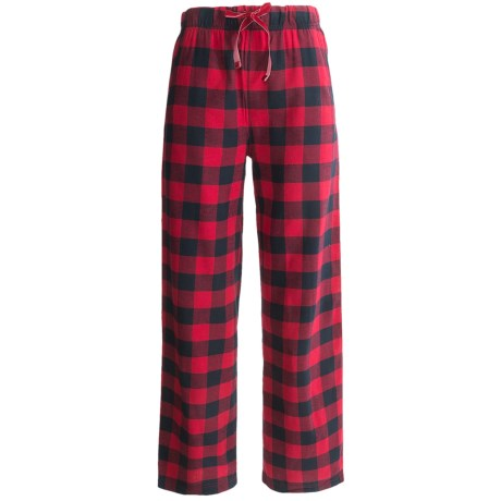 Woolrich Buffalo Check Flannel Pajama Bottoms (For Women)
