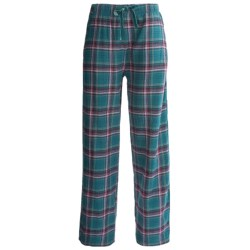 Woolrich Plaid Flannel Pajama Bottoms (For Women)