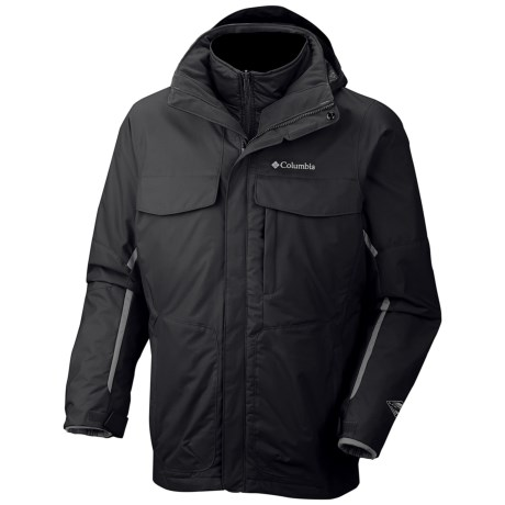 Columbia Sportswear Bugaboo Interchange Omni-Tech® Jacket - 3-in-1, Insulated (For Big Men)