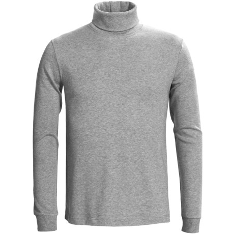 Calida Mix & Match Turtleneck - Cotton, Long Sleeve (For Men)