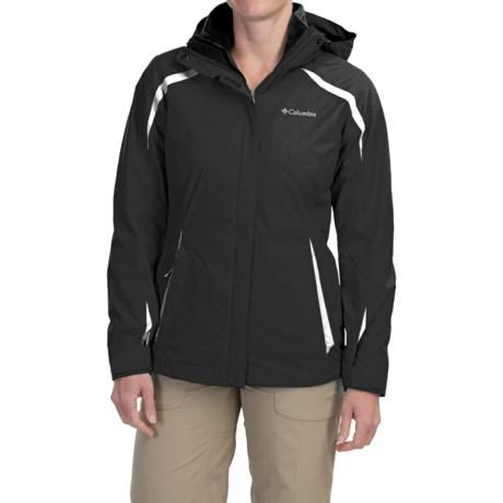 Columbia Sportswear Blazing Star Interchange Jacket - 3-in-1, Insulated, Omni-Shield® (For Women)
