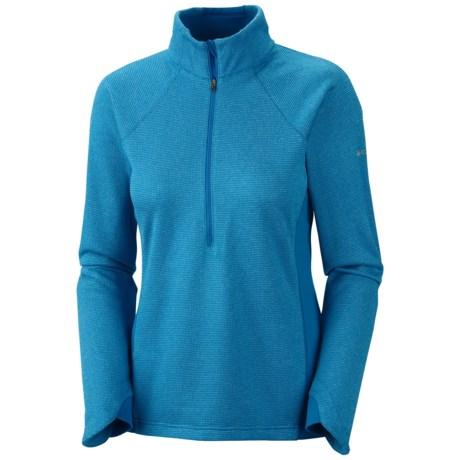 Columbia Sportswear Optic Got It Stripe Pullover - Zip Neck, Fleece, Long Sleeve (For Women)