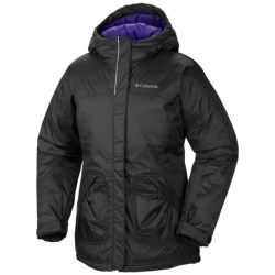 Columbia Sportswear Powder Alley Long Jacket - Insulated, Omni-Shield® (For Girls)