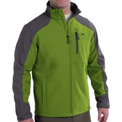 Soft Shell Jacket - Single Chest Pocket (For Men)