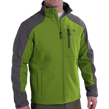 Soft Shell Jacket - Single Chest Pocket (For Men)