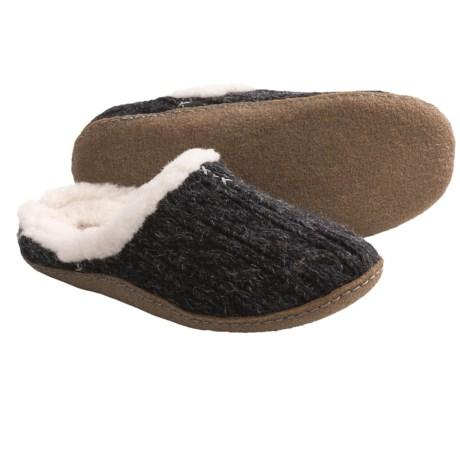 Sorel Nakiska Slide Knit Slippers (For Women)