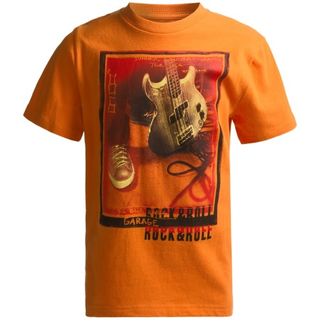 Graphic T-Shirt - Short Sleeve (For Little and Big Boys)