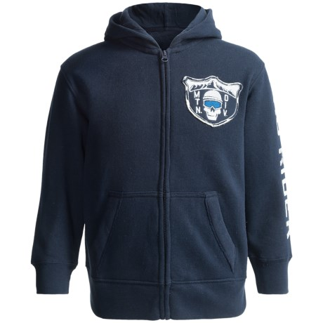 French Terry Zip Hoodie (For Boys)