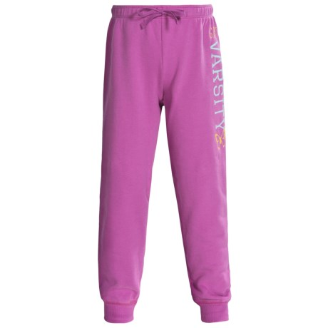 Graphic Sweatpants - Cotton Blend (For Girls)