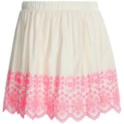 Eyelet Skirt - Fully Lined (For Girls)