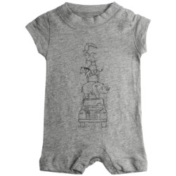 Graphic Romper - Short Sleeve (For Infant Boys)