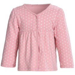 Snap-Front Cardigan Sweater - Reversible (For Infant Girls)