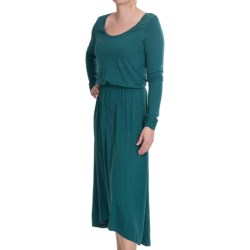 Lilla P Flame Pima-Modal Dress - Long Sleeve (For Women)