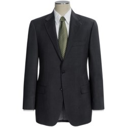 Hickey Freeman Worsted Wool Suit - Subtle Herringbone Stripe (For Men)