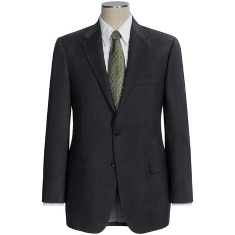 Hickey Freeman Worsted Wool Suit - Subtle Herringbone Stripe (For Men)