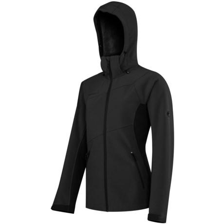Mammut Ladakh Soft Shell Jacket - Detachable Hood (For Women)