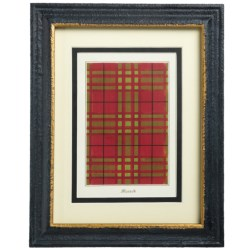 Two's Company Yale Tartan Wall Art Print - 8x10""