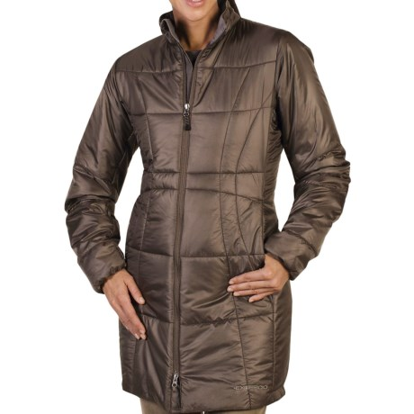 ExOfficio Storm Logic Trench Coat - Insulated (For Women)