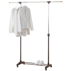 neatfreak! Single Bar Garment Rack - Adjustable