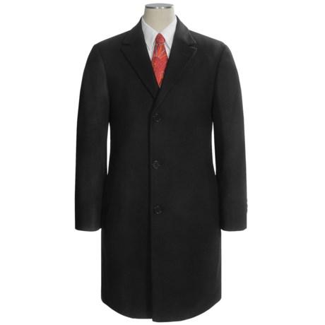 Calvin Klein Plaza Top Coat - Worsted Wool Blend (For Men)